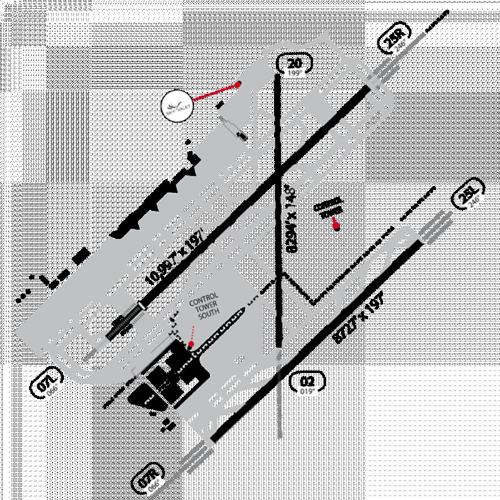 BARCELONA (EL PRAT) Map